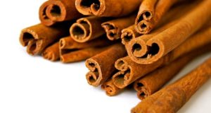 cinnamon bark close up
