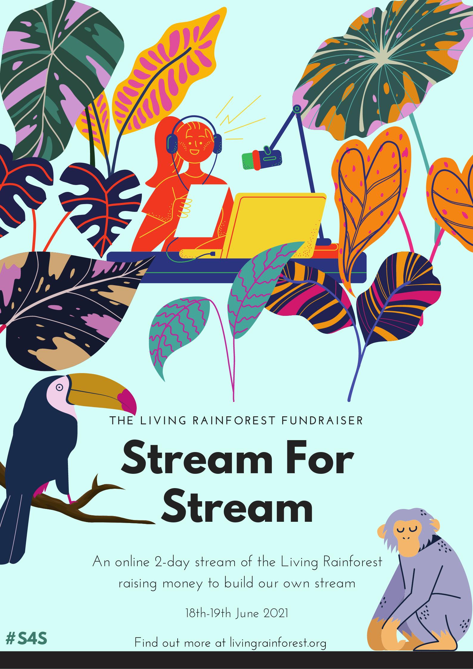 Stream For Stream Poster